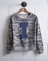 Tailgate Women's Illinois Camo Sweatshirt
