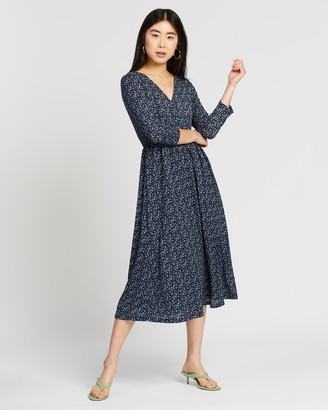 Only Pella 3/4 AOP Dress