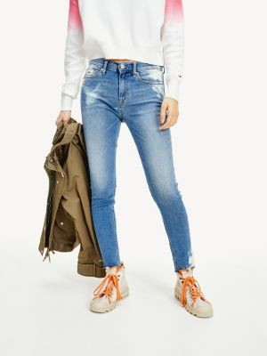 Tommy Hilfiger Nora Skinny Fit Bleached Jeans