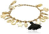 Ettika Charmed Life Black Charm Bracelet