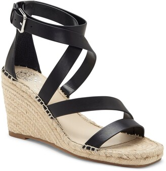 Vince Camuto Mesteria Ankle Strap Espadrille Wedge Sandal
