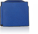 Valextra Men's Money Clip Billfold-BLUE