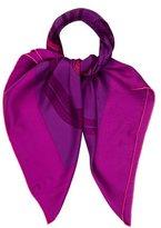 Hermes Brides de Gala Dip-Dye Scarf