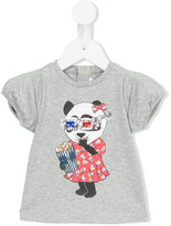 Little Marc Jacobs panda print T-shirt