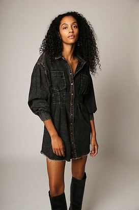 Free People Female Alpha Mini Dress