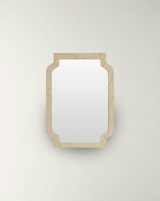 Bone Inlay Framed Mirror