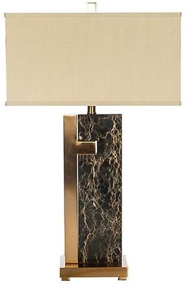 Barclay Butera For Bradburn Home Barrington Marble Table Lamp - Black/Gold