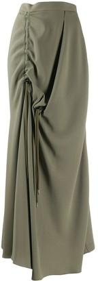 Chalayan Asymmetric Draped Skirt