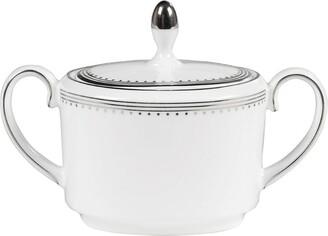 Wedgwood Vera Wang Grosgrain Sugar Bowl