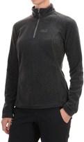 Jack Wolfskin Oakridge Fleece Pullover Jacket - Zip Neck (For Women)