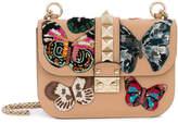 Valentino Glam Lock butterfly shoulder bag