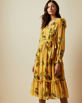 Ted Baker ELISSEA Savanna long sleeved dress