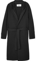Reigning Champ Loopback Cotton-jersey Robe - Black