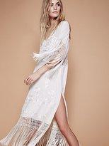 Free People Ella Fringe Midi Dress