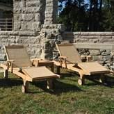 Regal Teak Chesapeake Teak Indoor/Outdoor Chaise Lounge