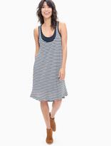 Splendid French Stripe Tank Swing Dress
