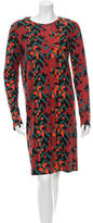 M Missoni Printed Long Sleeve Dress w/ Tags