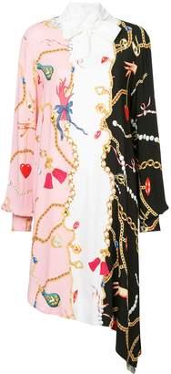 VIVETTA asymmetric pussy bow dress