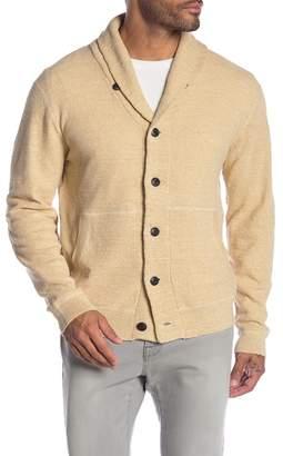 Grayers Cabana Shawl Collar Knit Cardigan