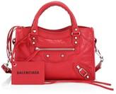 Balenciaga Mini Classic City Leather Satchel