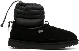 UGG x Stampd Tech Tasman leather boots
