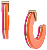 Trina Turk Indian Canyon Double Sided Hoop
