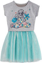 Disney Disney's The Little Mermaid Ariel Popover Dress, Toddler Girls