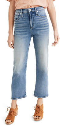 Madewell Slim Wide Leg Crop Jeans