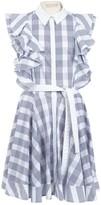 Antonio Berardi Blue Cotton Dress for Women