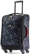 American Tourister Mickey Mouse Multi-Face 19-Inch Spinner Carry-On Expandable Suitcase