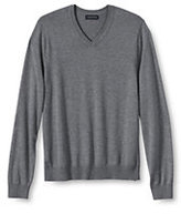 Classic Men's Performance Soft V-neck Sweater-Antique Moss