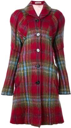 Vivienne Westwood Pre-Owned Gold Label tartan coat