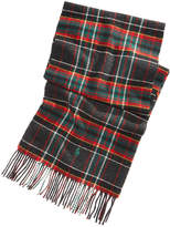 Polo Ralph Lauren Men's Virgin Wool Tartan Plaid Reversible Scarf