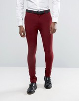 Rogues Of London Super Skinny Suit Trousers