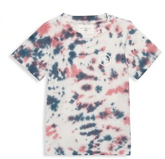 Sol Angeles Little Kid's & Kid's Marble-Print Cotton T-Shirt