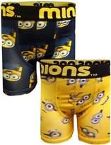 WebUndies.com Despicable Me 2 Pack Boys Boxer Briefs for boys