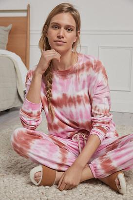 Sundry Tie-Dye Sweatshirt By in Pink Size XS
