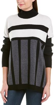 BCBGMAXAZRIA Mock Wool-Blend Sweater