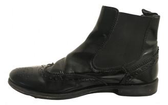 Gallucci Black Leather Boots