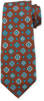 Kiton Fancy Box Silk Tie