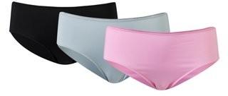 Gildan Gilden Women's Tag Free Microfiber Bikini Panties, 3-Pack