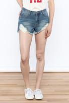Ppla Distressed Denim Shorts