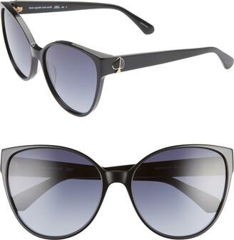 Kate Spade Primrose 60mm Gradient Cat Eye Sunglasses