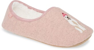 Joules Faux Fur Lined Slipper