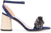 Castaner Ximena sandals - women - Suede/Jute/Leather/rubber - 36