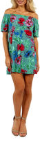 24/7 Comfort Apparel Beach Garden Shift Dress