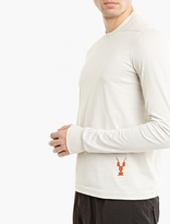 Rick Owens Drkshdw Off-white Long-sleeved T-shirt
