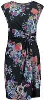 Anna Field FLORAL Shift dress black/purple