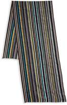 Paul Smith Lightweight Striped Scarf