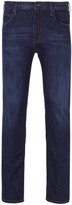 Armani Jeans J45 Indigo Blue Slim Fit Denim Jeans